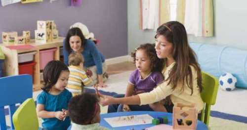 Comenzando un preescolar desde casa