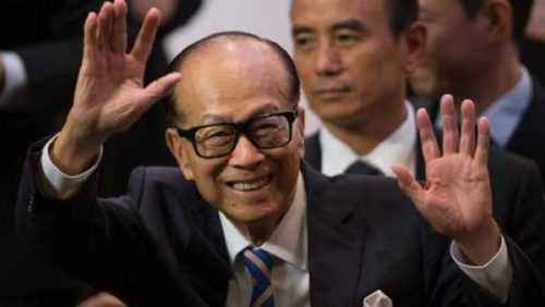 Cotizaciones de negocios de Li Ka Shing