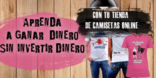 Iniciar un negocio de camisetas en línea sin dinero