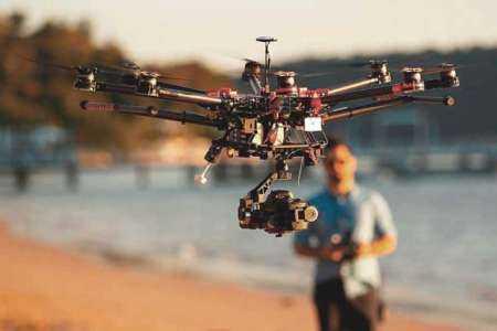 Iniciar un negocio de fotografía aérea con drones