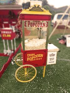 Iniciar un negocio de palomitas de maíz