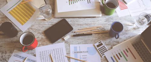 Iniciar una plantilla de plan de negocios de muestra en línea de una empresa de revistas
