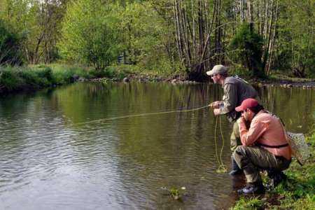 Inicio de un negocio de servicio de guías de pesca