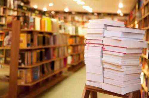Inicio de una plantilla de plan de negocios de muestra de librería en línea usada