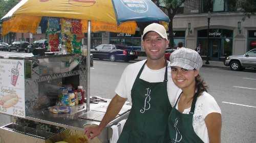 Inicio de una plantilla de plan de negocios de muestra de negocio de Hot Dog Cart