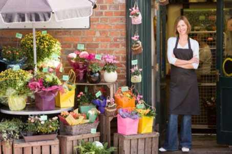 Inicio de una plantilla de plan de negocios de muestra de tienda de flores