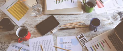 Línea de ropa Plan de negocios Muestra de proyección financiera