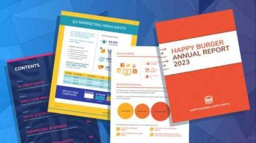 Una plantilla de muestra del plan de negocios de la empresa de registro