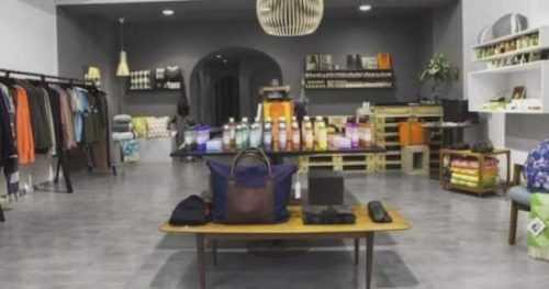 Una plantilla de plan de negocios de línea cosmética de muestra